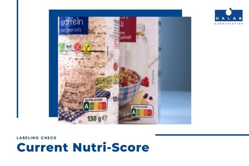 Labeling check: Current Nutri-Score