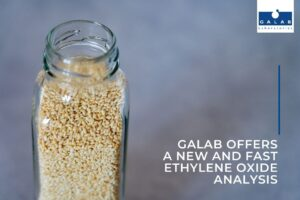 GALAB offers a new and fast ethylene oxide analysis