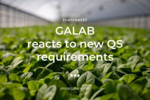 Flufenacet: GALAB reacts to new QS requirements