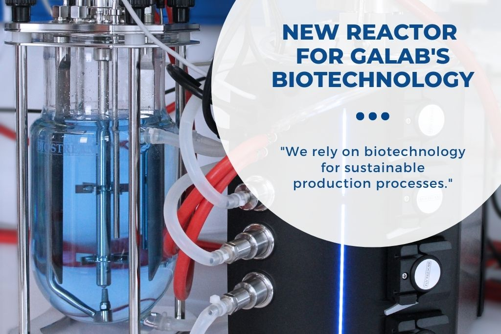 New Reactor for GALAB's Biotechnology