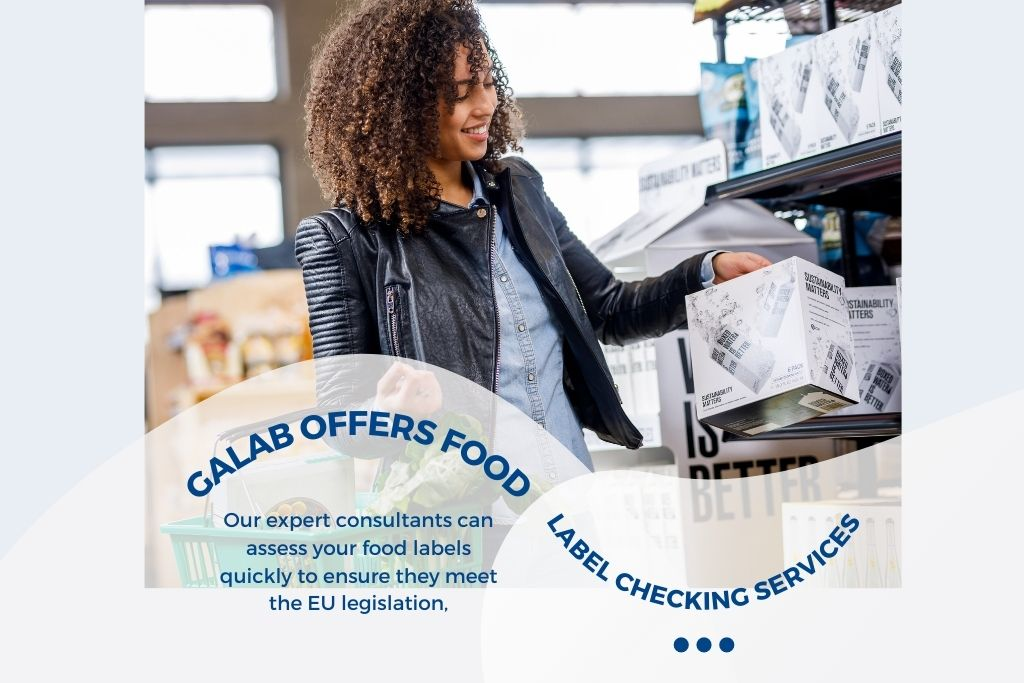 GALAB Food Label Checking Services