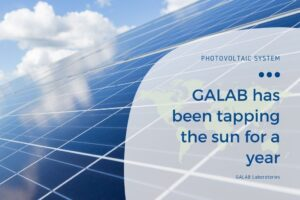 GALAB has been tapping the sun for a year